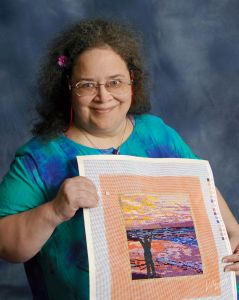 Carmen w/ Uplift Sunrise Canvas